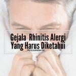 Gejala Rhinitis Alergi Yang Harus Diketahui
