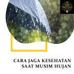 Cara jaga kesehatan saat musim hujan